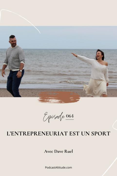Karine & Dave: L'entrepreneuriat est un sport